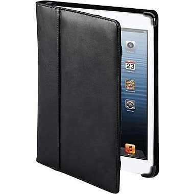 Cyber Acoustics Leather iPad mini Cover Case, Black