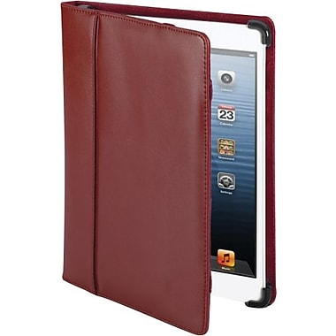 Cyber Acoustics Leather iPad mini Cover Case, Red