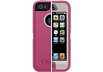 Otterbox Defender Cases for iPhone 5, Grey/Pink