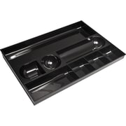 Staples® Black Plastic Drawer Organizer