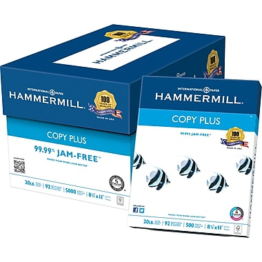 HammerMill® Copy Plus Copy Paper, 8 1/2