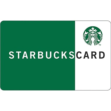 15 starbucks card staplesr for Starbucks business cards