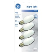 4 Watt Ge® Nightlight C7 Lightbulb, Soft White