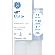 GE® Utility T12 Linear Fluorescent Lightbulb, Cool White, Non-dimmable
