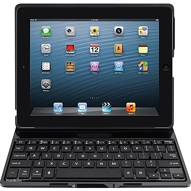 Belkin Ultimate Keyboard Case for iPad (4th & 3rd gen) and iPad 2, Black