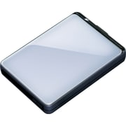 Buffalo MiniStation Plus 1TB Portable USB 3.0 External Hard Drive (Silver)