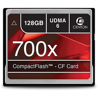 Centon 128GB 700X CompactFlash Memory Card