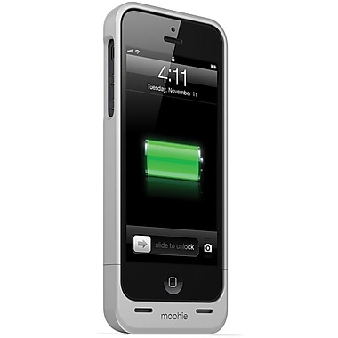 mophie® Juice Pack Helium for iPhone 5 (1500mAh), Silver