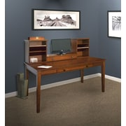 Hudson Valley 60 Writing Desk with Hutch