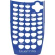 Guerrilla Blue Face Plater for TI-84SE Graphing Calculator