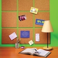 Quartet® Natural Cork Tiles, Frameless, Modular, 4 Pack, 6in. x 6in.
