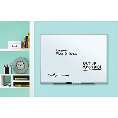 Quartet® Dry-Erase Board, Aluminum Frame, 17in. x 23in.