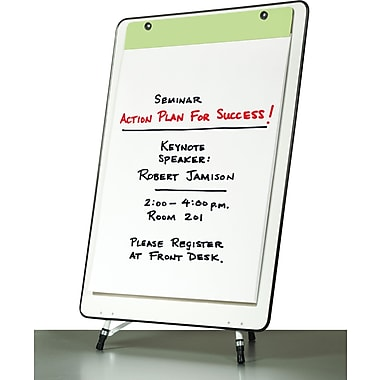 Quartet® Advantage Presentation Easel, Whiteboard/Flipchart Surface