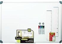 Quartet® Magnetic Dry-Erase Board, Euro Style Aluminum Frame, 2' x 3'