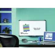 "Quartet®, 18"" x 30"", Steel Magnetic Dry-Erase Board, Aluminum Frame (48101)"