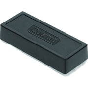Staples® Plush Eraser, for Whiteboards and Chalkboards, Black