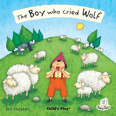 The Boy Who Cried Wolf Flip Up Book & CD