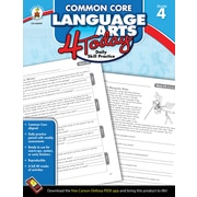 Carson-Dellosa™ Common Core Language Arts 4 Today Workbook, Grade 4