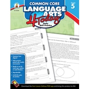 Carson-Dellosa™ Common Core Language Arts 4 Today Workbook, Grade 5