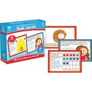 Carson-Dellosa™ CenterSolutions® Write-On/Wipe-Away Task Cards, Grade 1