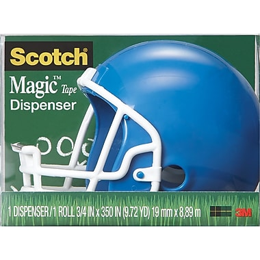 Scotch Helmet Tape Dispenser with ScotchMagic Tape