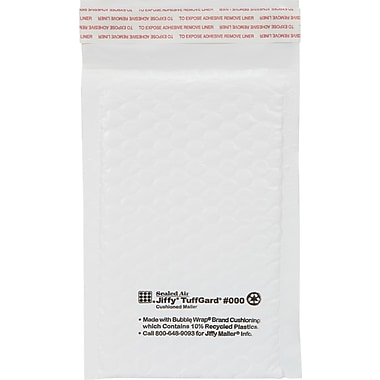 Bubble Wrap Cushoioned Poly Mailers, 4in. X 8in.