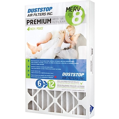 Duststop, MERV 8 Air Filter, 16