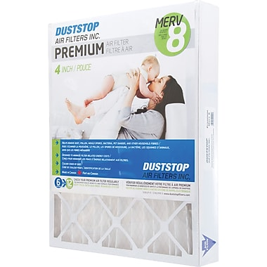 Duststop, MERV 8 Air Filter, 20