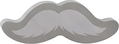 Post it Mustache Shaped Die Cut Memo Cube 2 Pads Pack