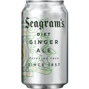 Seagram's® Diet Ginger Ale, 12 oz. Cans, 24/Pack