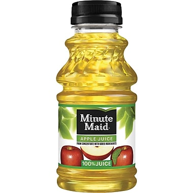 Minute Maid Apple Juice, 10 oz, 24/case