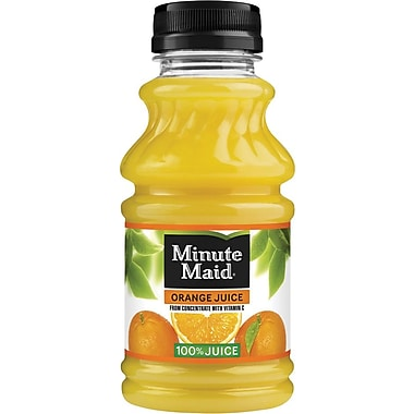 Minute Maid Orange Juice, 10 oz, 24/case
