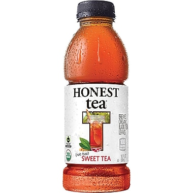 Honest Tea, (Not Too) Sweet Tea, 16.9 oz., 12/case