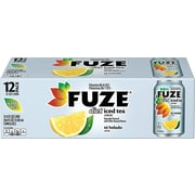 Fuze® Diet Lemon Iced Tea, 12 oz. Cans, 12/Pack