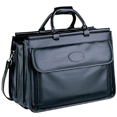 Bugatti Edinburgh Executive Briefcase, Black