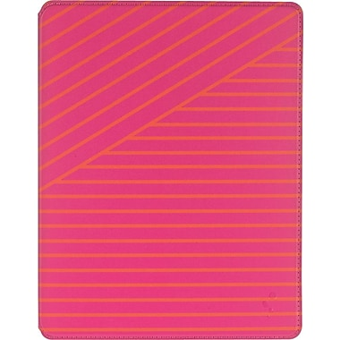 M-Edge Slim Case for iPad 4/3/2, Pink Bandage Stripe