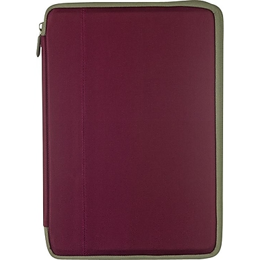 "M-Edge Universal Stealth 360 Case for 7"" Devices, Raspberry"