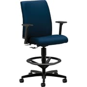 HON Ignition Low-Back Task/Computer Chair for Office and Computer Desks/Drafting Stool with Arms, Mariner