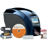 1 Sided IDville Business+ Edition ID Badge Printer Kit with Magnetic Encoding by