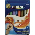 Dixon® Ticonderoga® Prang® 00000 Crayon With Soy, Assorted, 8/Box