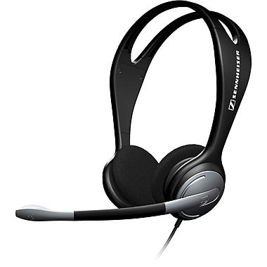 Sennheiser – Casque d'écoute binaural stéréo PC 131, porté autour de la tête