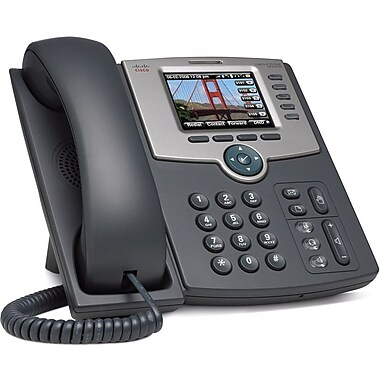Cisco® 5-Line IP Phone Colour Display POE with LAN Bluetooth