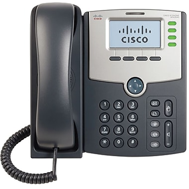 Cisco® 4-Line IP Phone with Display POE and PC Port
