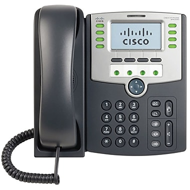 Cisco® 12-Line IP Phone with Display POE and PC Port