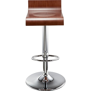 Staples Lavott Stool, Wood Veneer