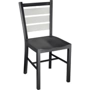 Staples Café Chair Metal, Black