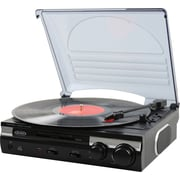 Jensen JTA-230 3-Speed Stereo Turntable with AM/FM Stereo Radio