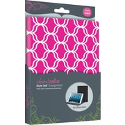 Elibrium365 Designer Folios for iPad Mini, Hot Pink Lattice