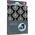 Elibrium365 Designer Folios for iPad Mini, Black Damask