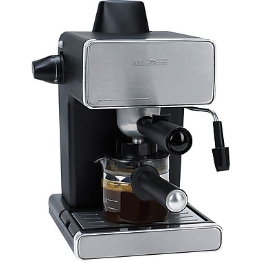Mr. Coffee 4-Cup Steam Espresso Maker